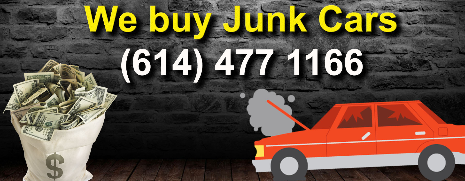 Find junk car buyer in Columbus Ohio Area. Sell scrap cars for cash