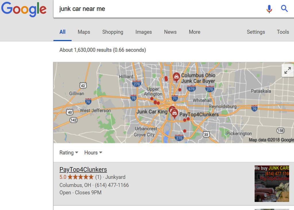 Junk Car buyers near me, Columbus Ohio. Call or Text (614) 477 1166
